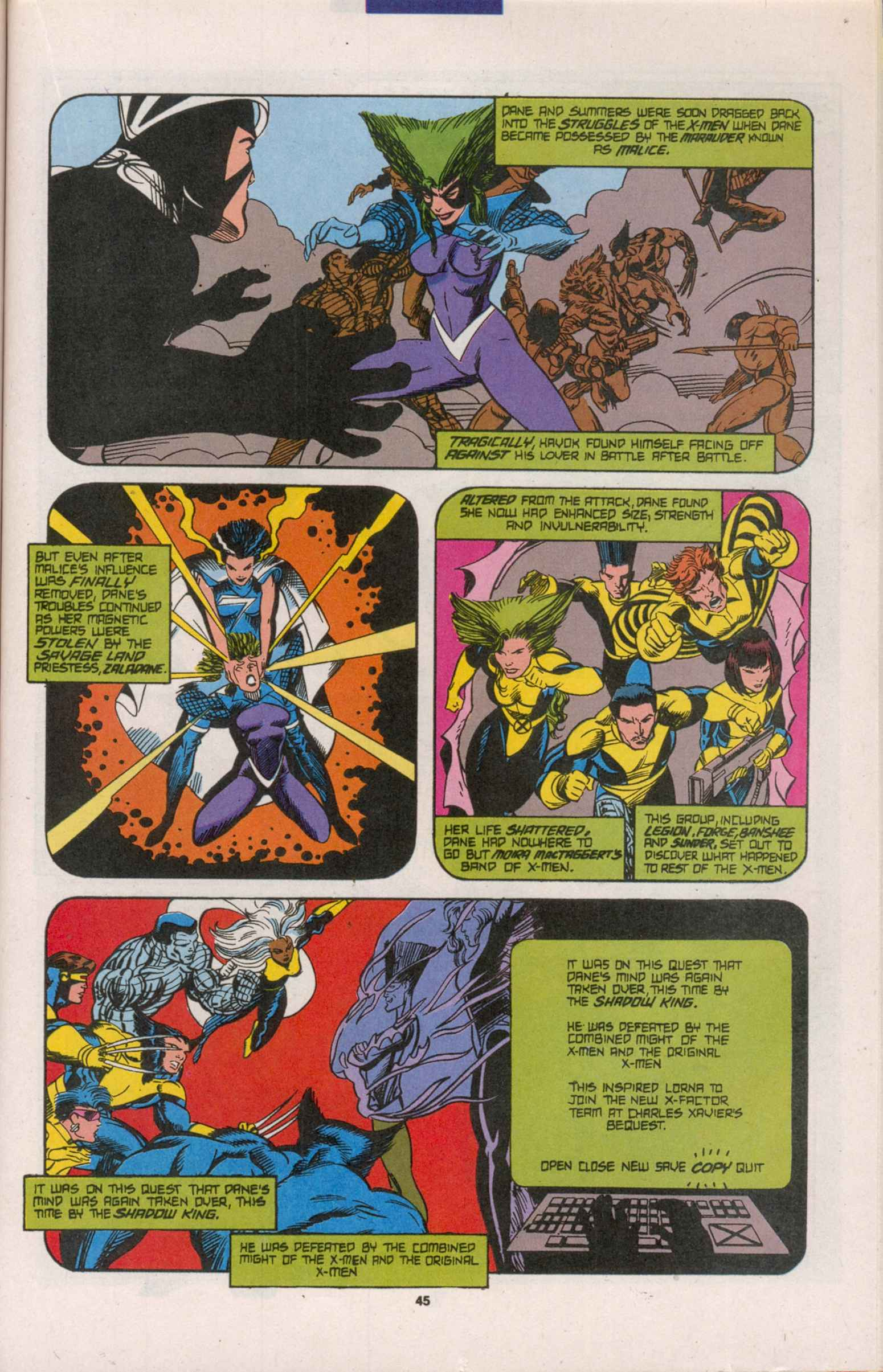Read online X-Factor (1986) comic -  Issue # _ Annual 8 - 40
