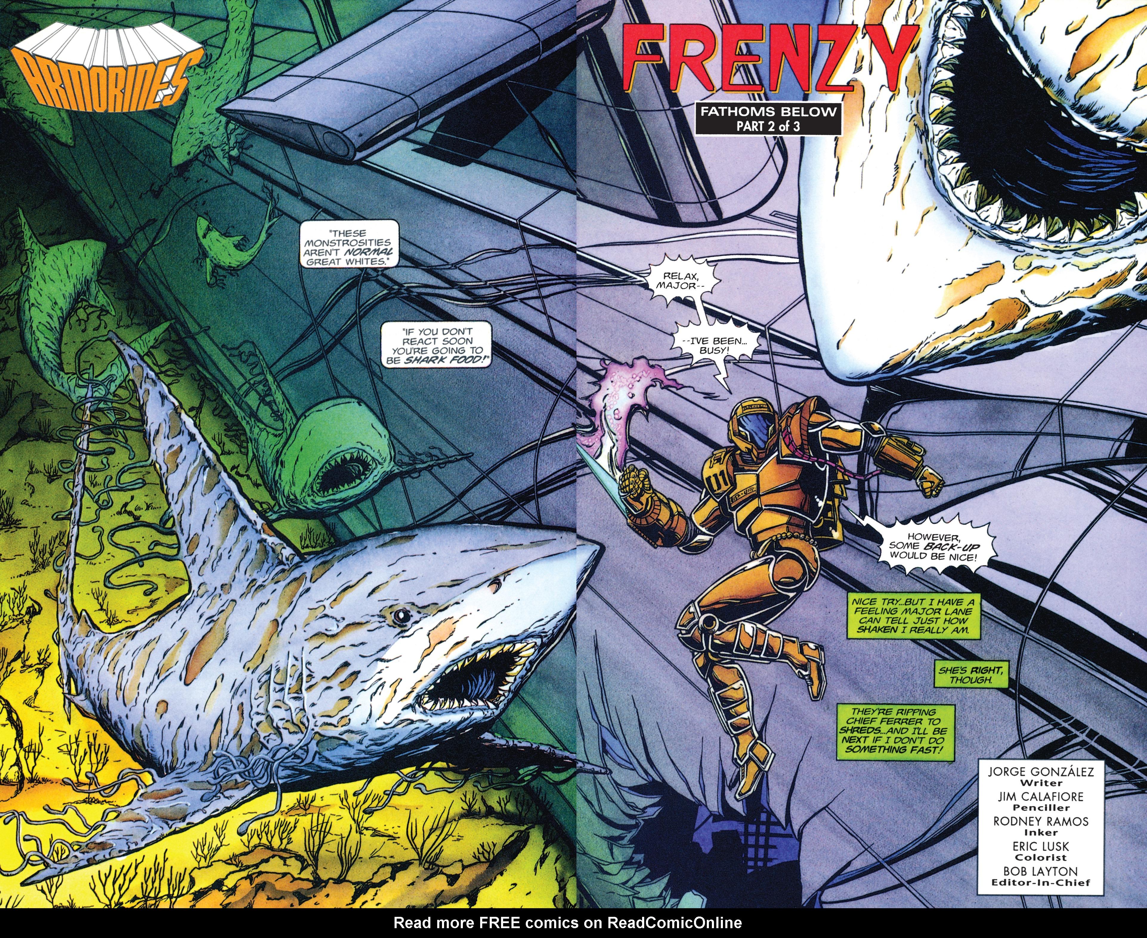 Read online Armorines comic -  Issue #2 - 3