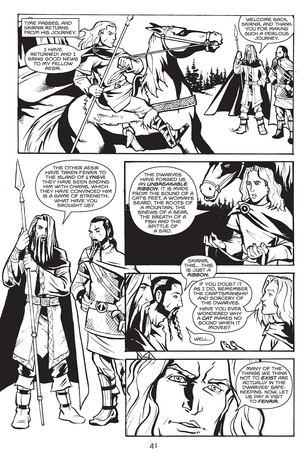 Read online Gods of Asgard comic -  Issue # TPB (Part 1) - 42