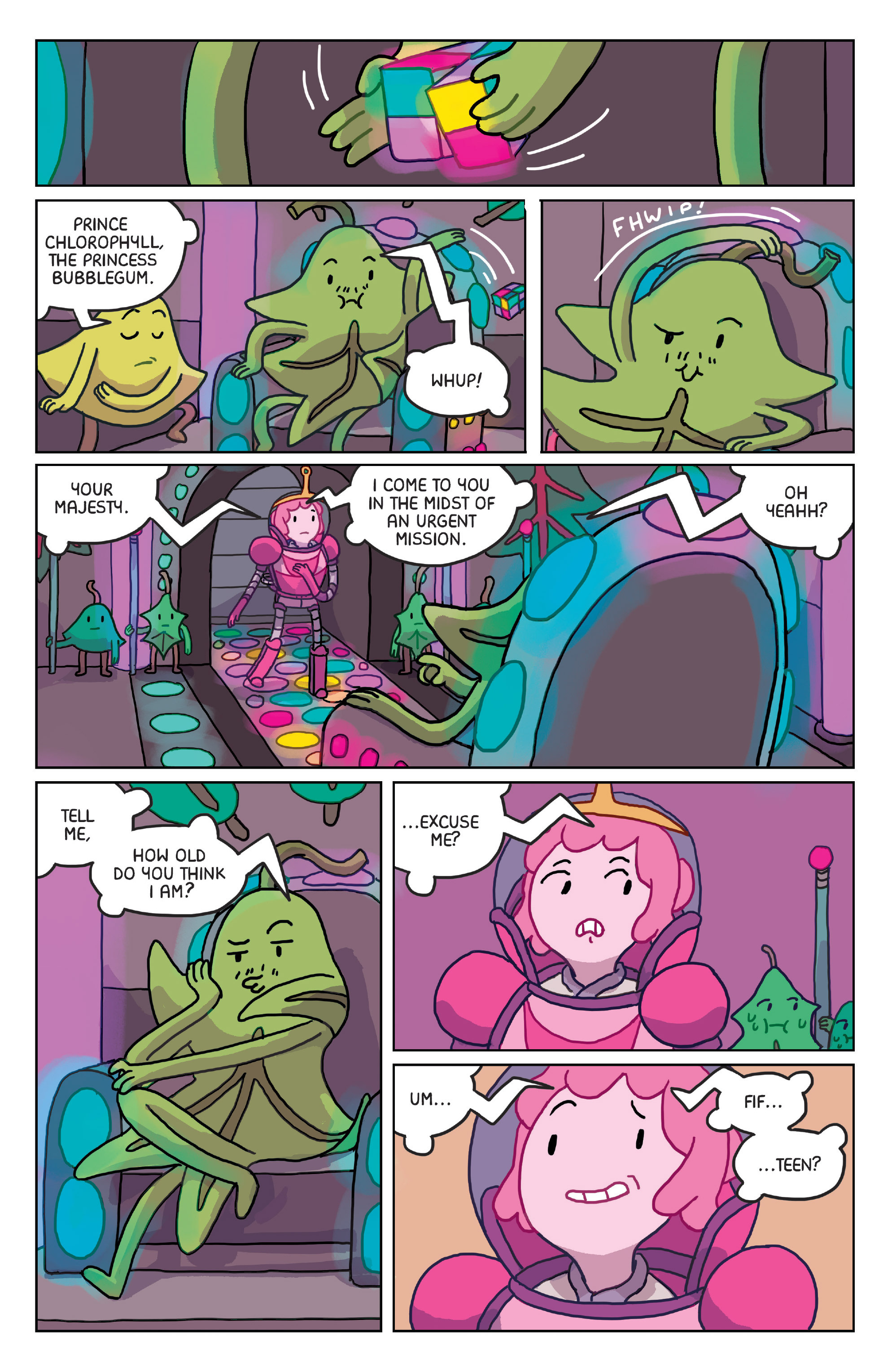 Read online Adventure Time: Marceline Gone Adrift comic -  Issue #4 - 17