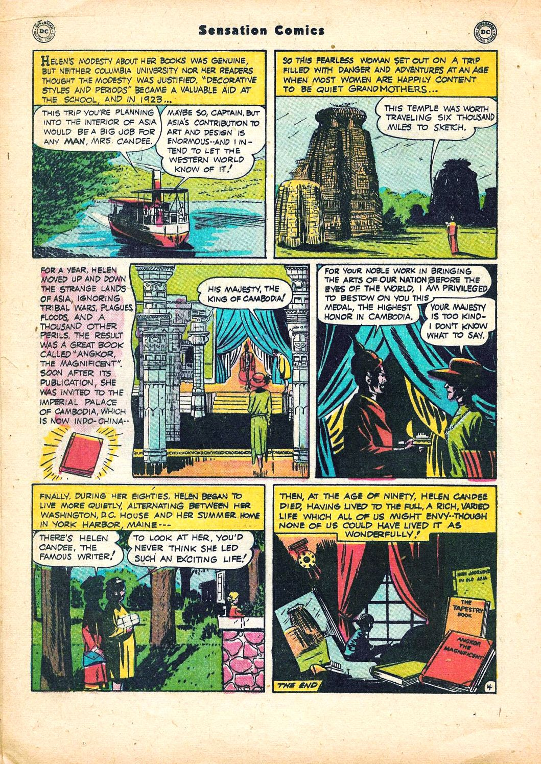Read online Sensation (Mystery) Comics comic -  Issue #95 - 30