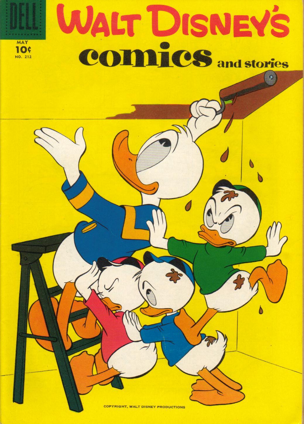Walt Disneys Comics and Stories 212 Page 1