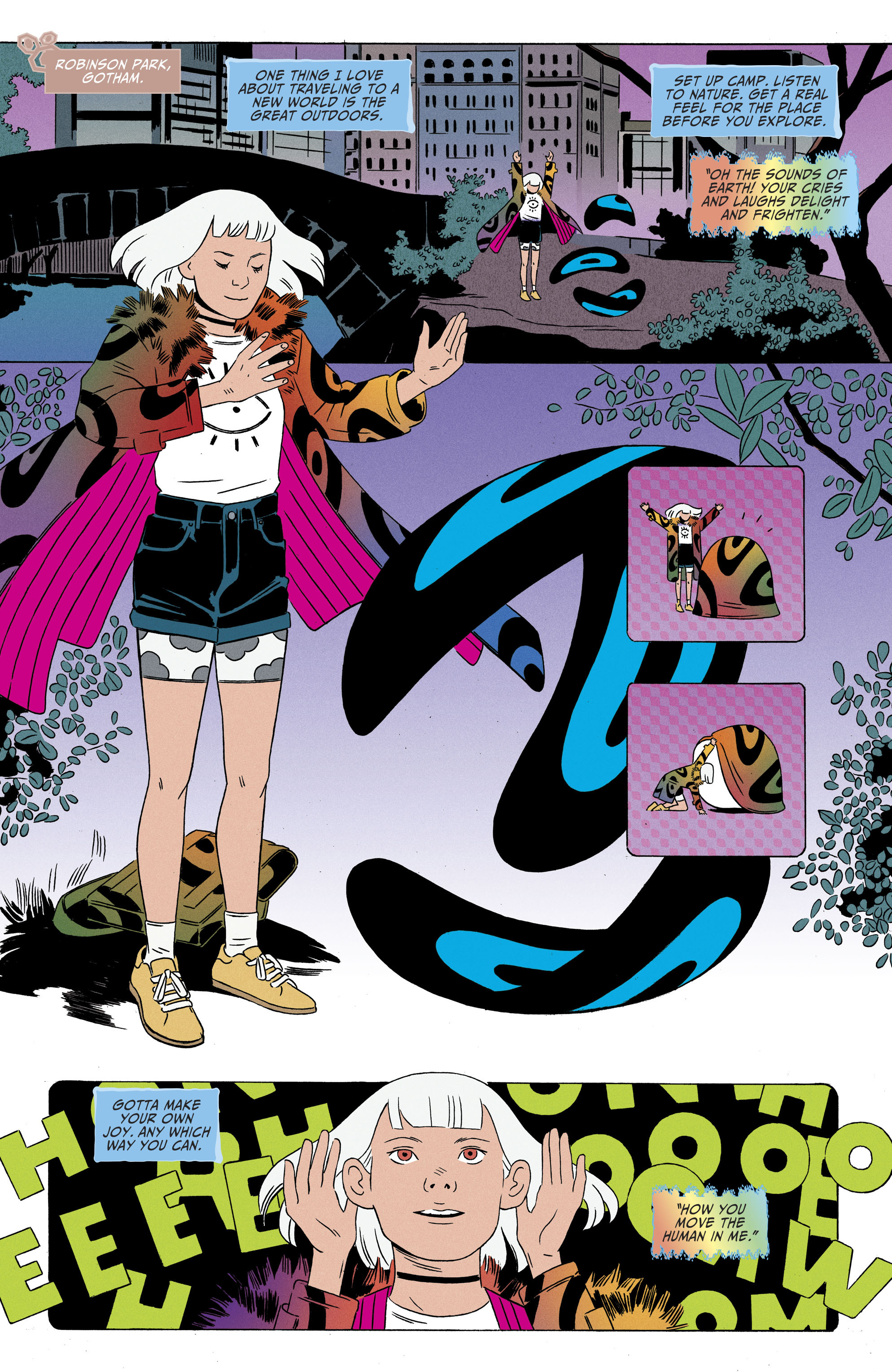 Read online Shade, the Changing Girl comic -  Issue #8 - 7