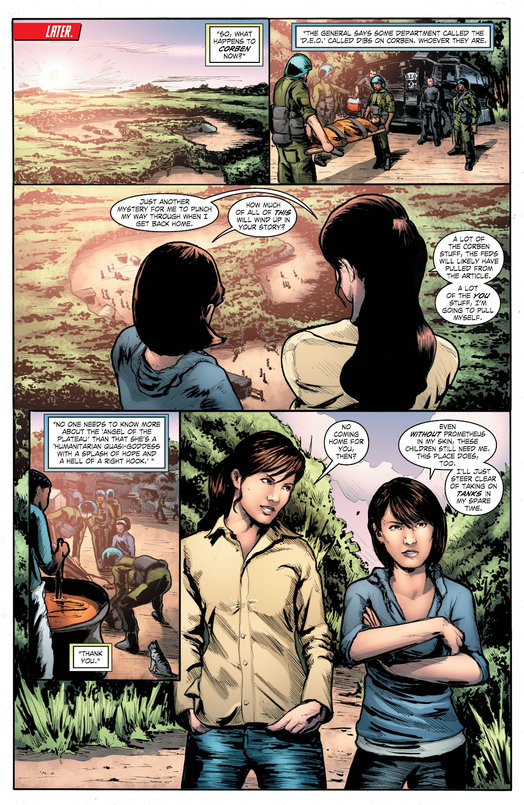 Read online Smallville Season 11 [II] comic -  Issue # TPB 4 - 141