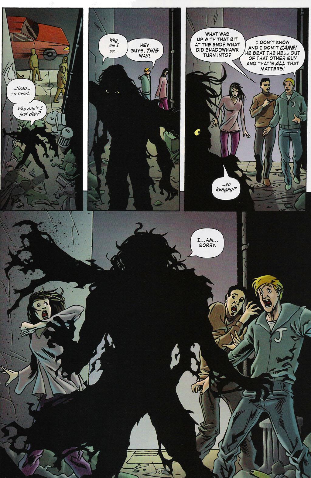 Read online ShadowHawk (2005) comic -  Issue #4 - 22