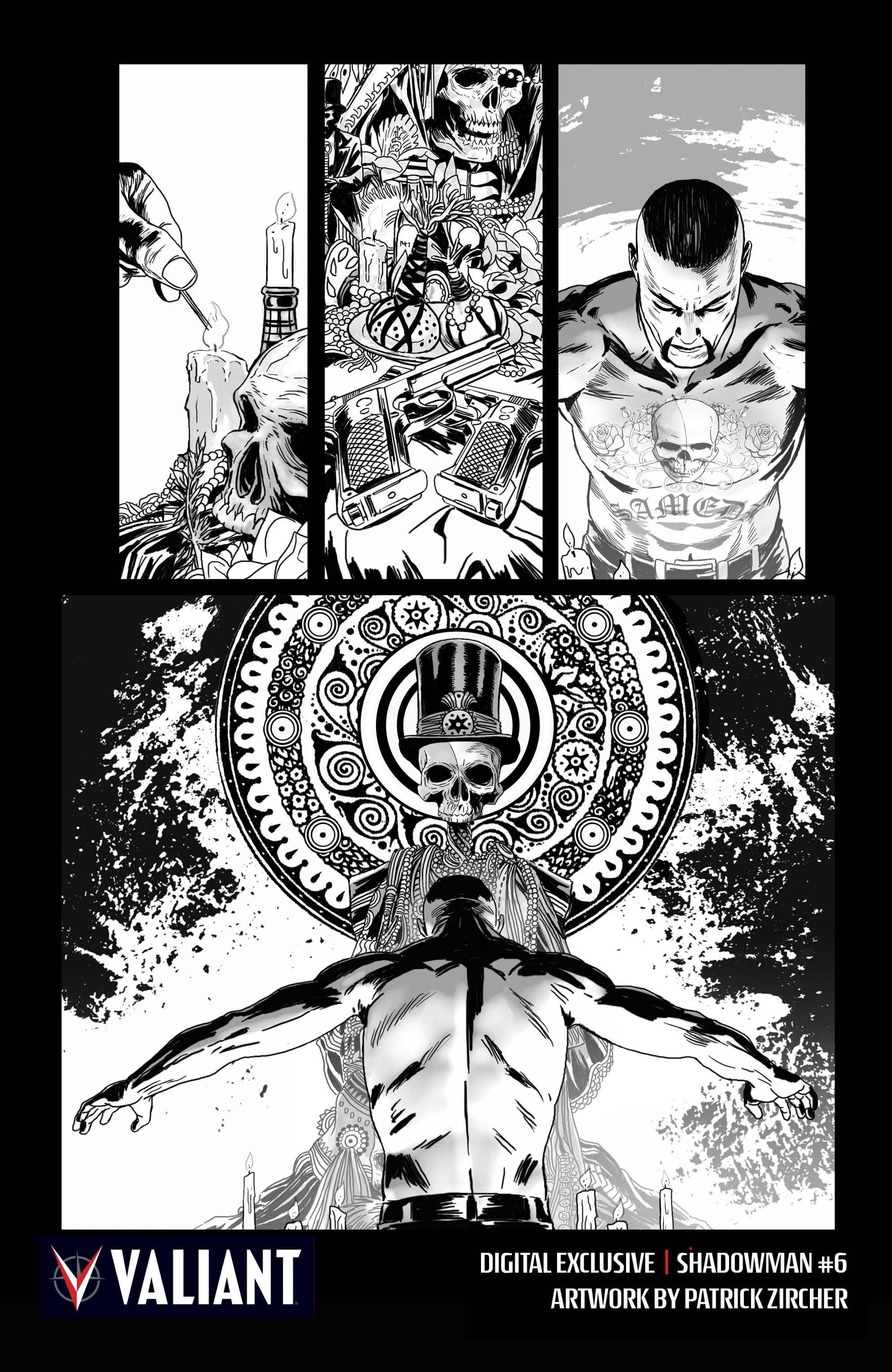 Read online Shadowman (2012) comic -  Issue #6 - 27