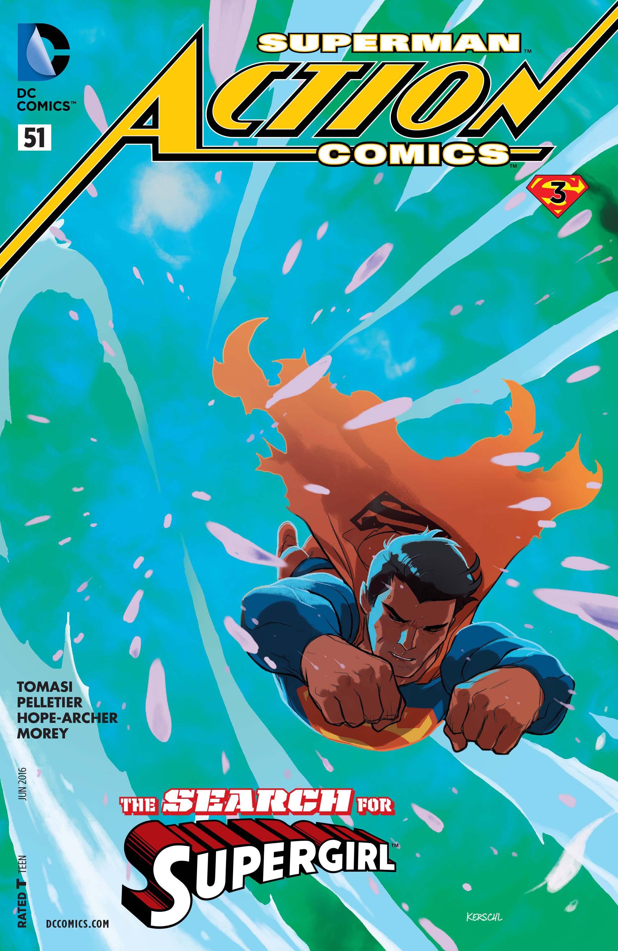 Action Comics (2011) 51 Page 1