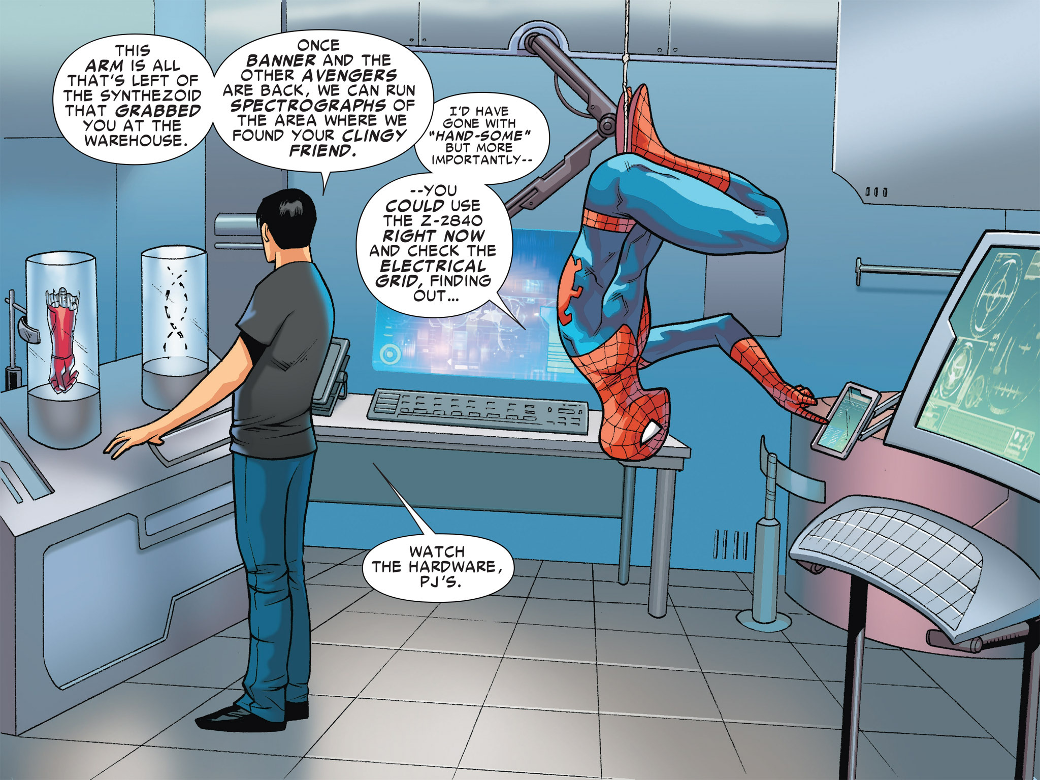 Read online Ultimate Spider-Man (Infinite Comics) (2016) comic -  Issue #4 - 14
