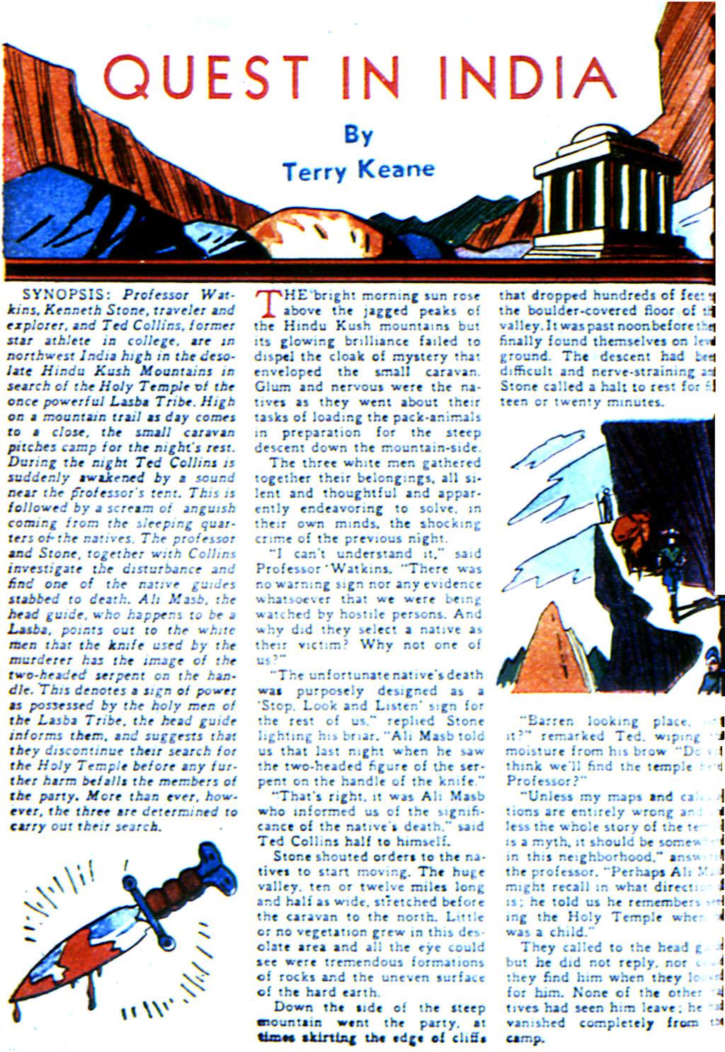 Read online Adventure Comics (1938) comic -  Issue #42 - 42