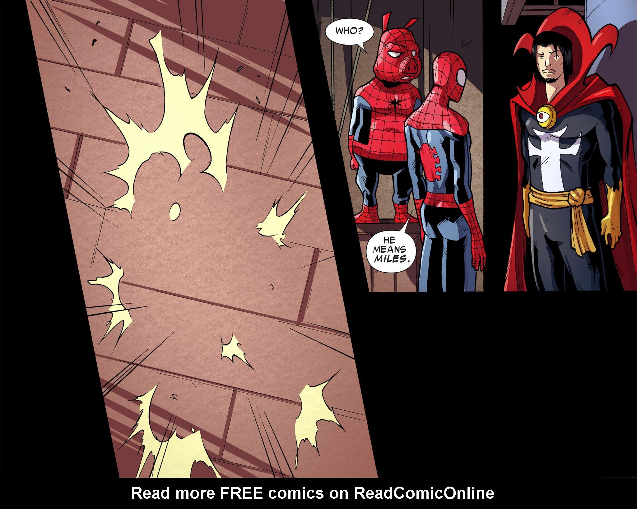 Read online Ultimate Spider-Man (Infinite Comics) (2016) comic -  Issue #9 - 17