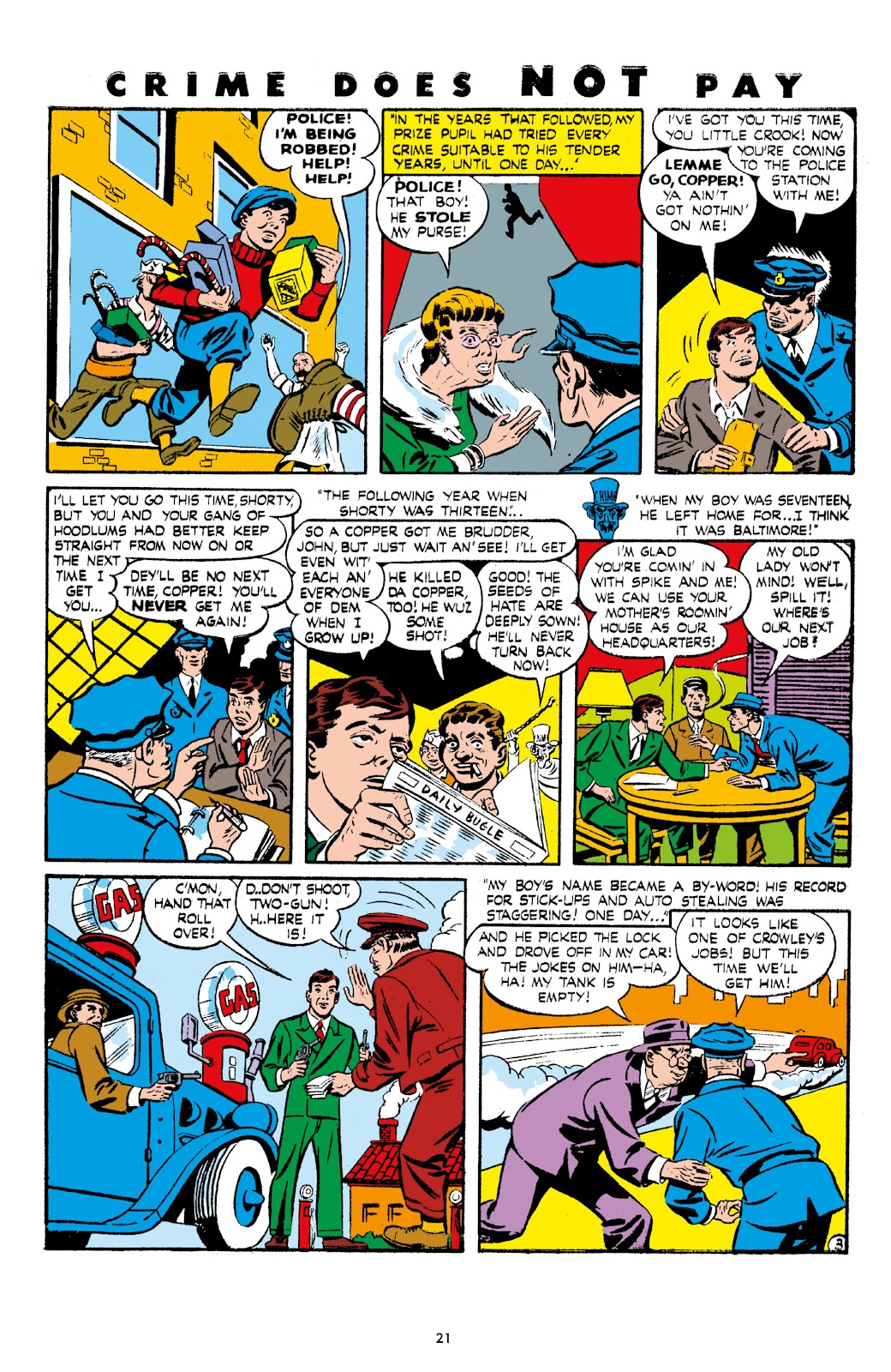 Read online Crime Does Not Pay Archives comic -  Issue # TPB 7 (Part 1) - 23