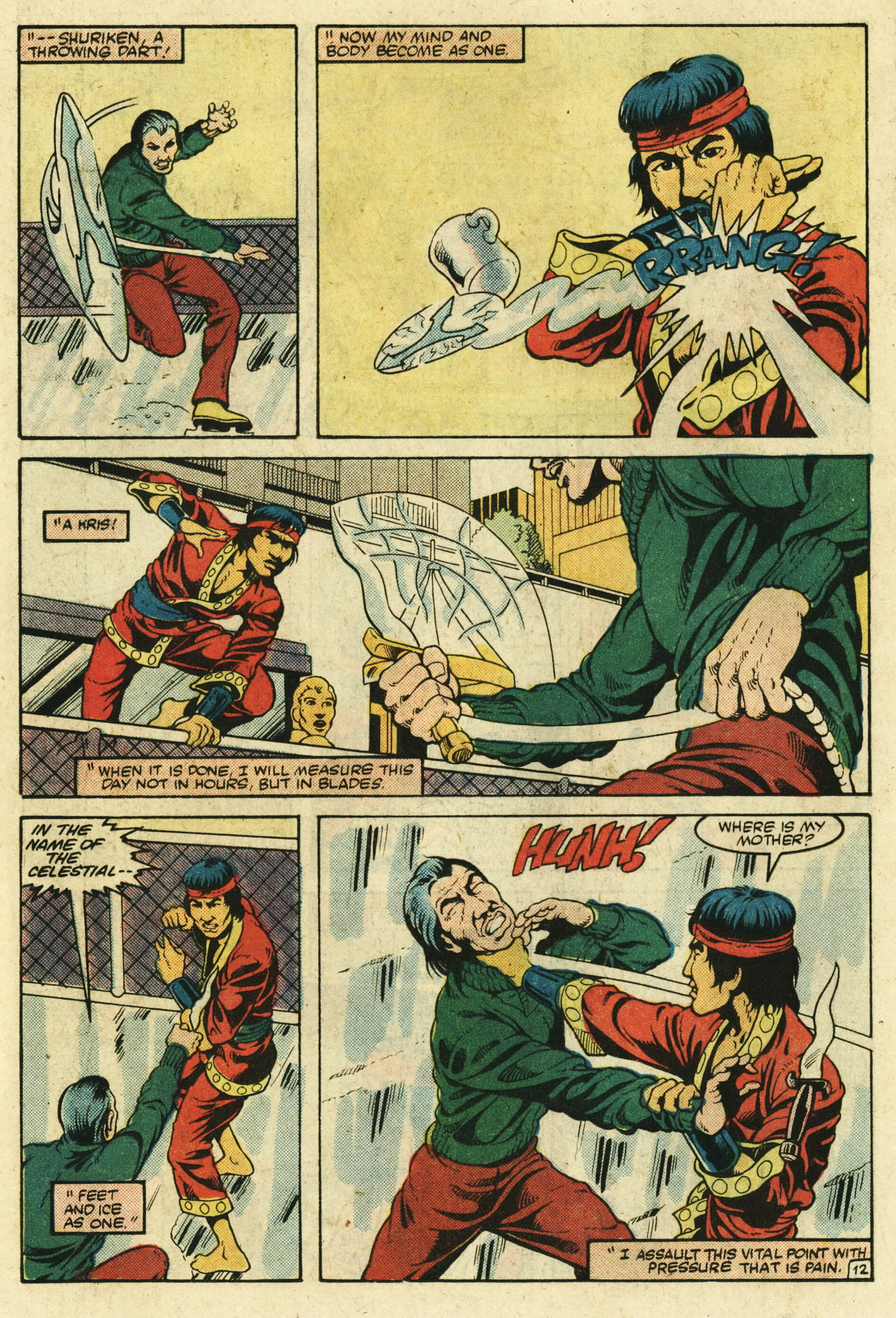Read online Master of Kung Fu (1974) comic -  Issue #123 - 13