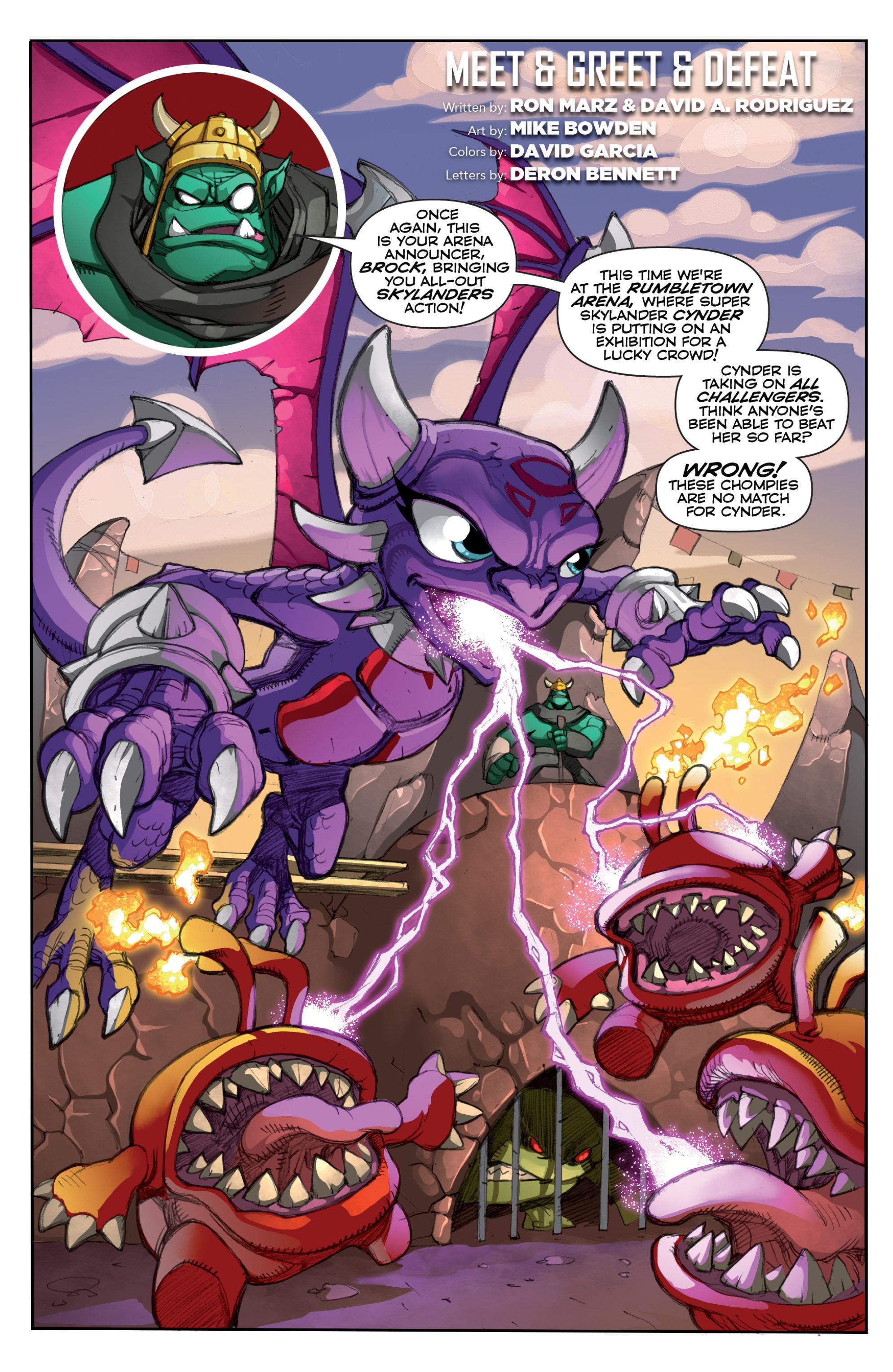Read online Skylanders comic -  Issue #6 - 19