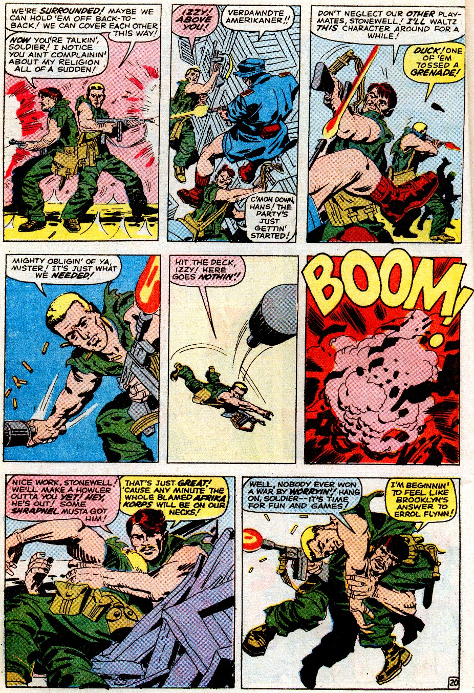 Read online Sgt. Fury comic -  Issue # _Special 5 - 26