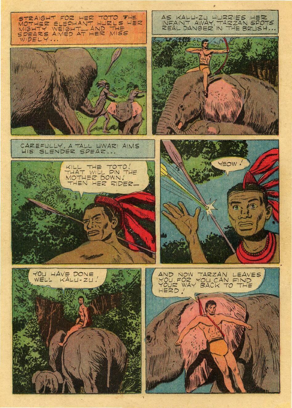Tarzan (1948) issue 76 - Page 16