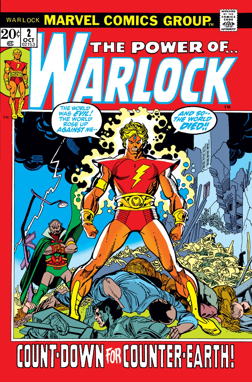Warlock (1972) issue 2 - Page 1