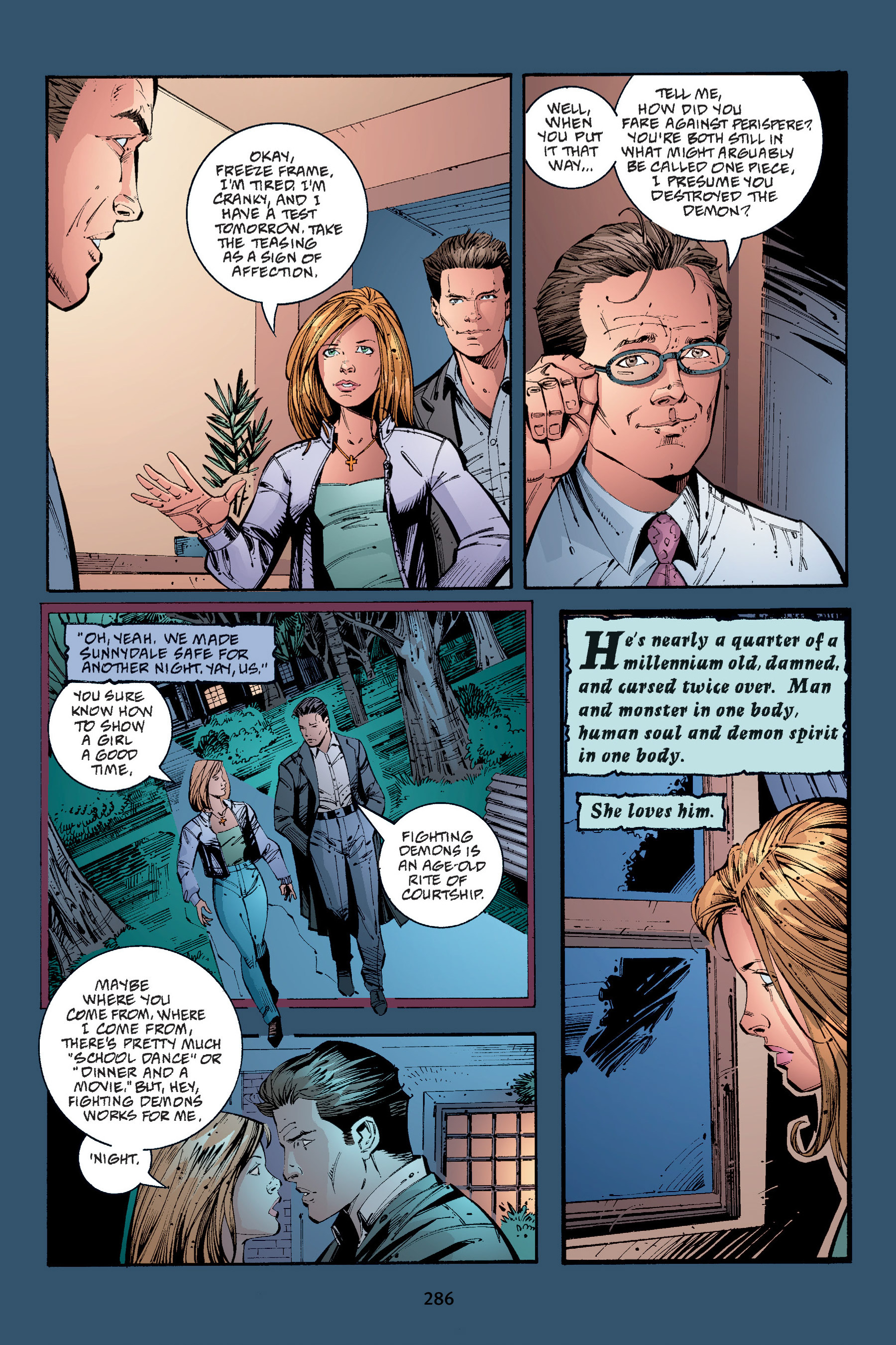 Read online Buffy the Vampire Slayer: Omnibus comic -  Issue # TPB 4 - 283