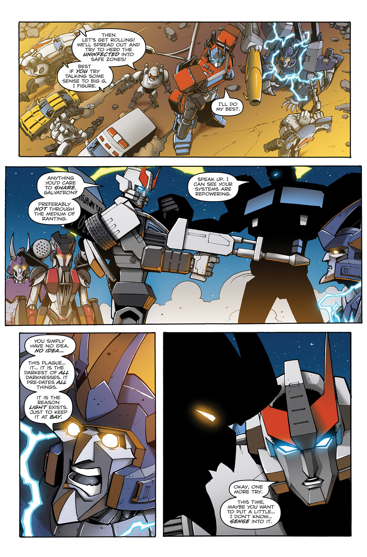 Read online Transformers: Infestation comic -  Issue #1 - 21