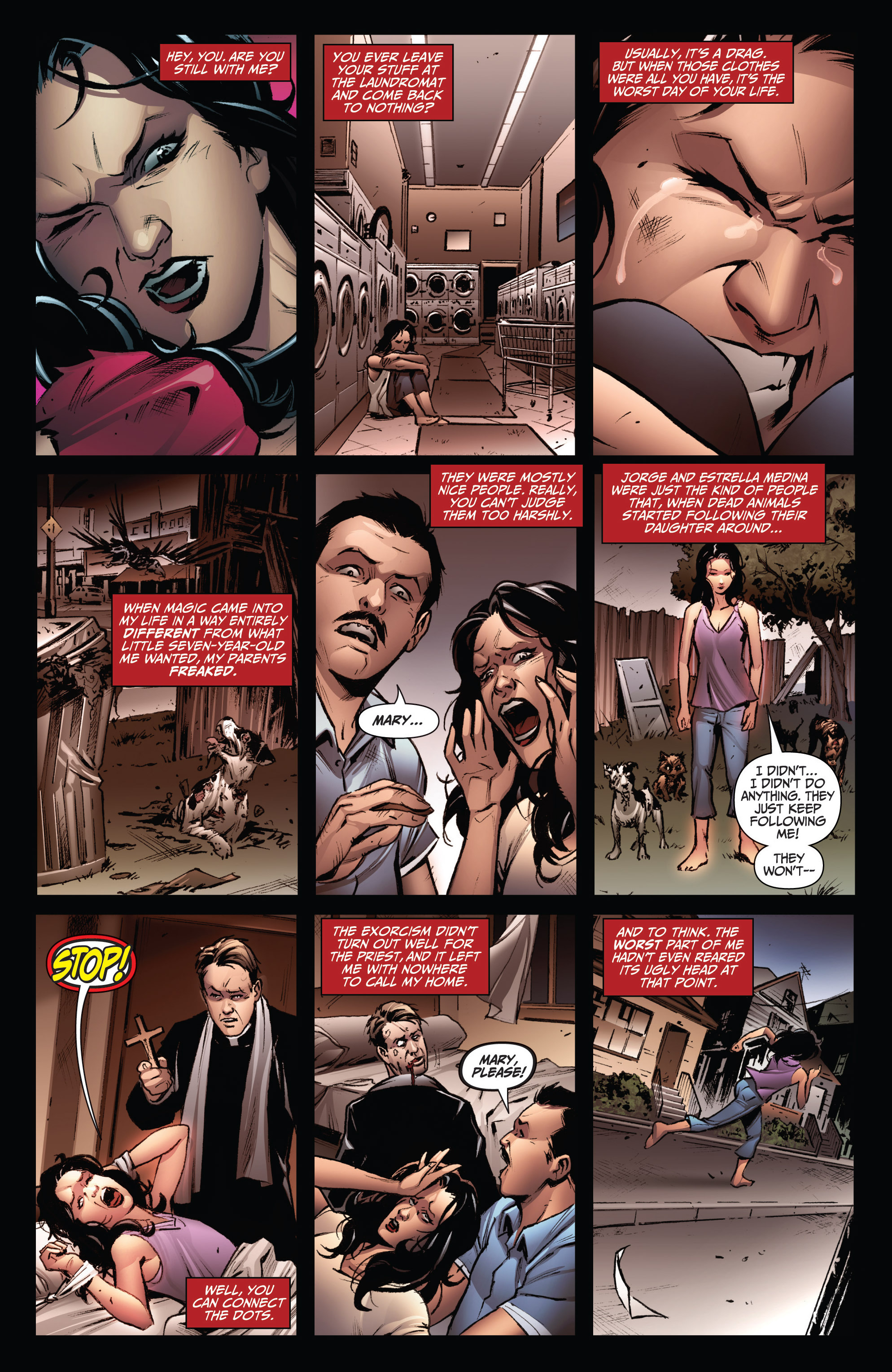 Read online Grimm Fairy Tales: Arcane Acre comic -  Issue # TPB 3 - 35
