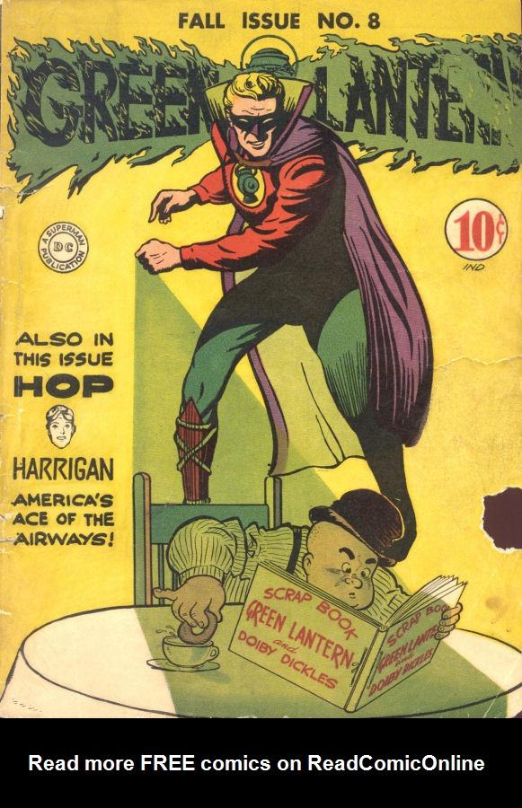 Green Lantern (1941) issue 8 - Page 1