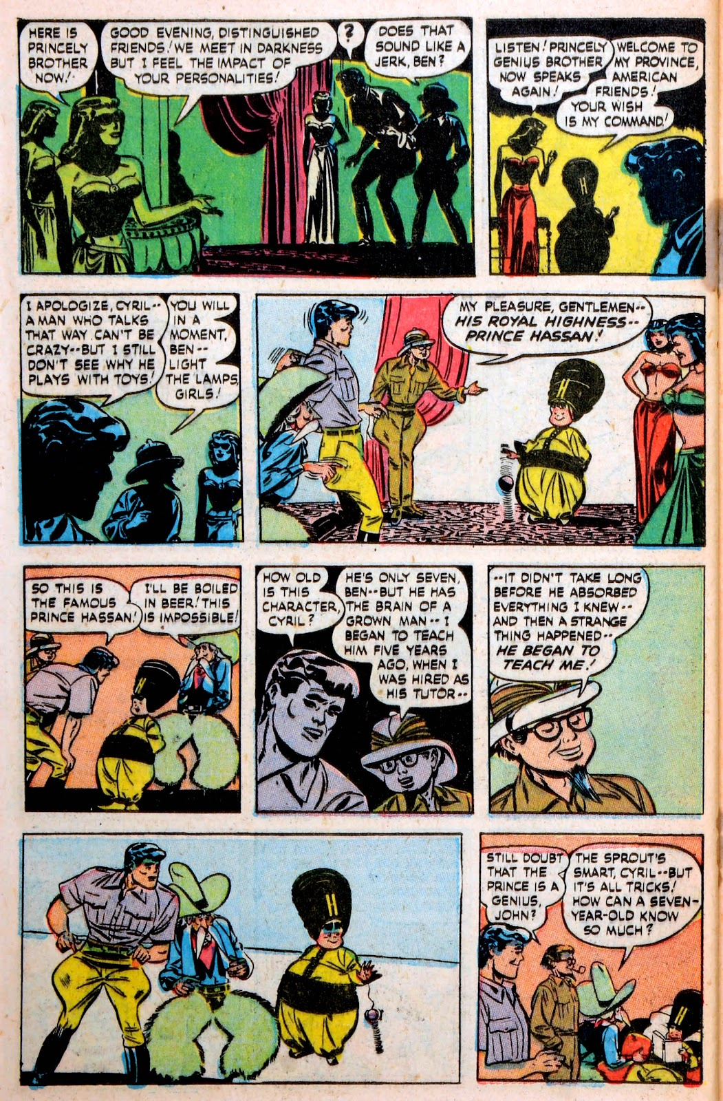 Read online Famous Funnies comic -  Issue #194 - 41