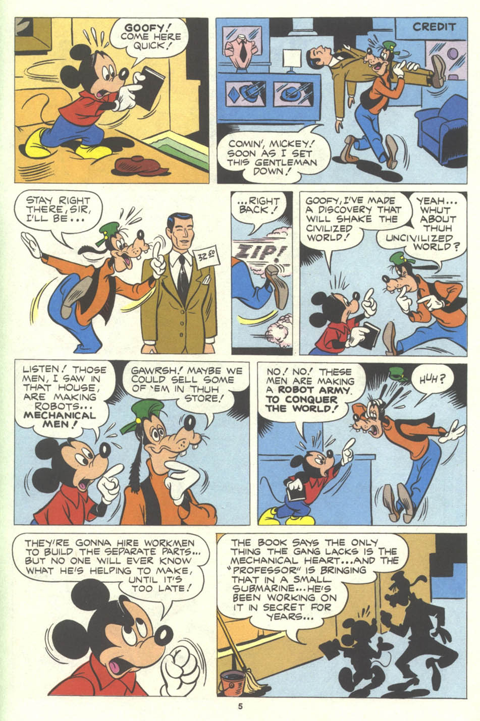 Walt Disney's Comics and Stories issue 575 - Page 55
