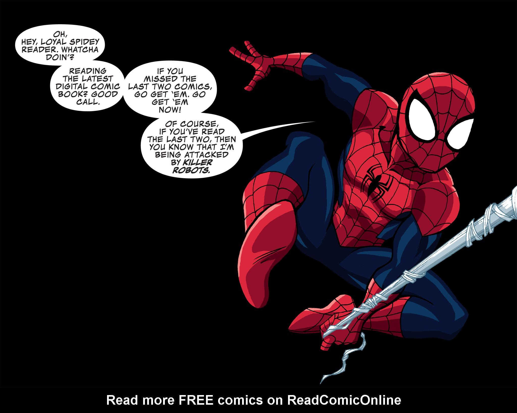 Read online Ultimate Spider-Man (Infinite Comics) (2015) comic -  Issue #3 - 3