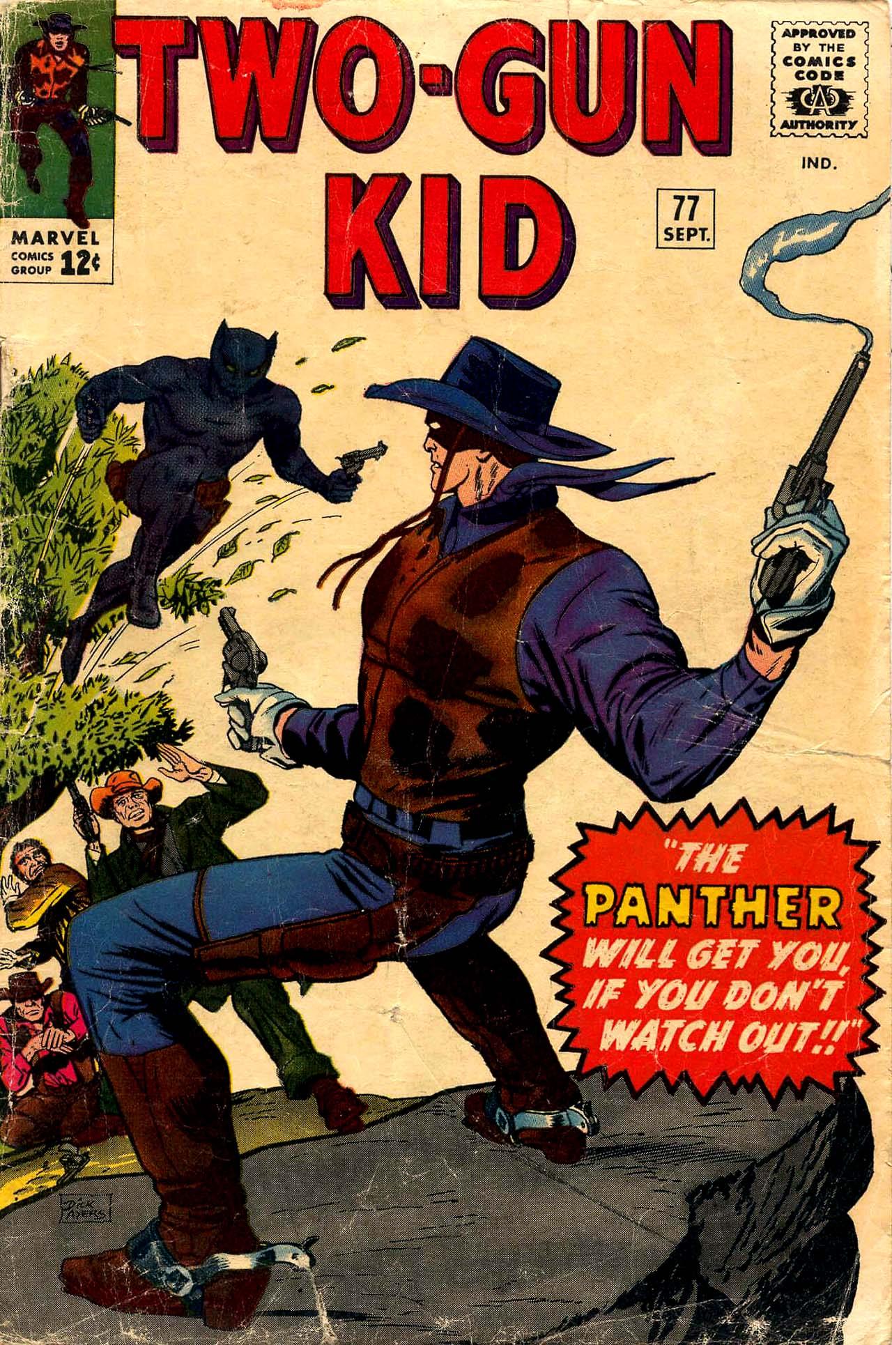 Read online Two-Gun Kid comic -  Issue #77 - 1