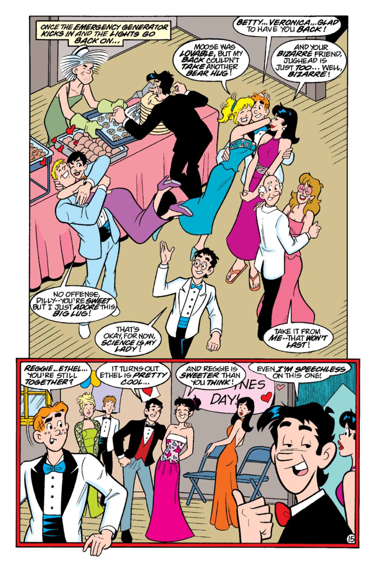 Read online Archie's Weird Mysteries comic -  Issue #19 - 17