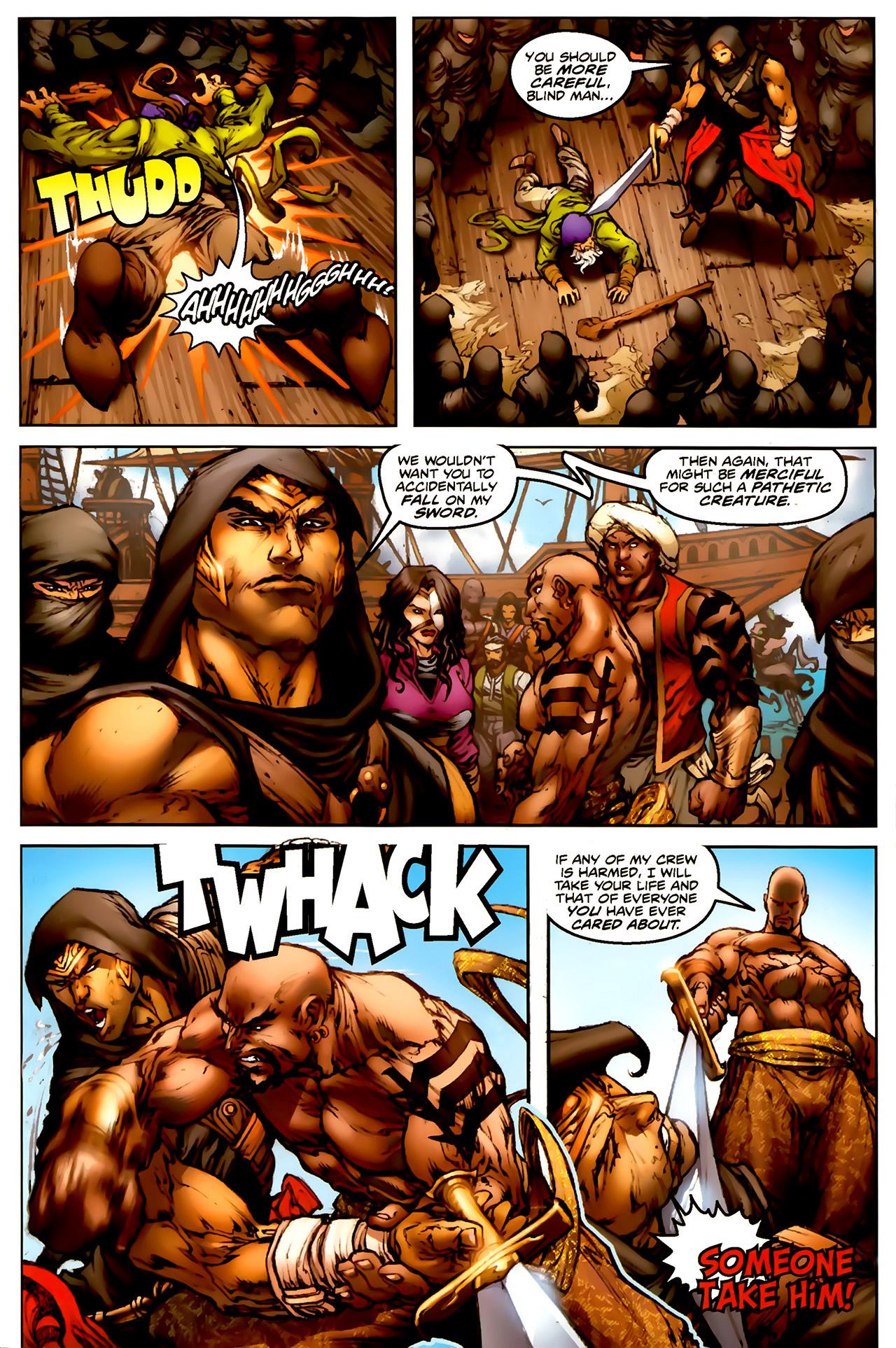 Read online 1001 Arabian Nights: The Adventures of Sinbad comic -  Issue #1 - 12