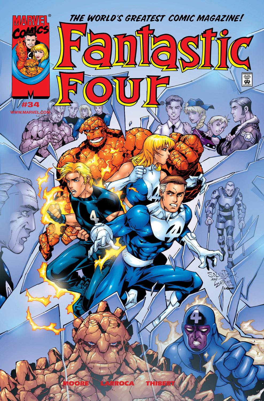 Fantastic Four (1998) 34 Page 1