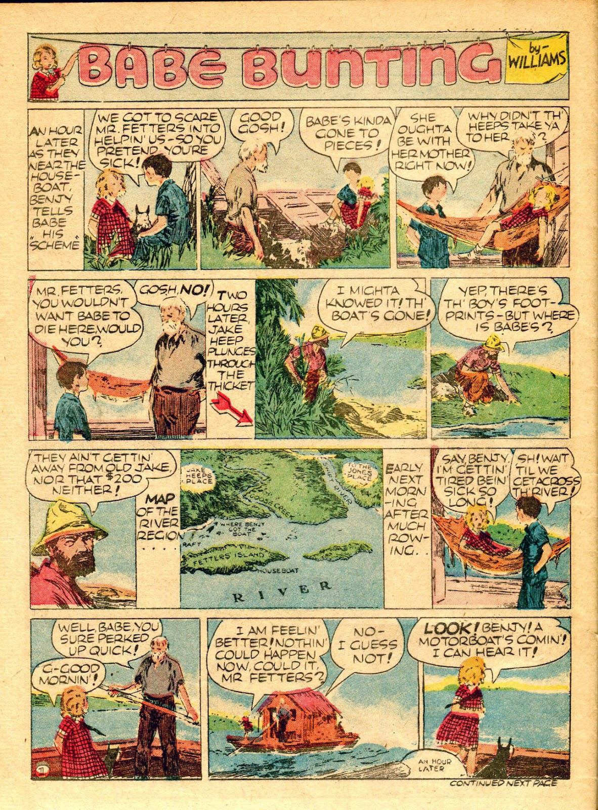 Read online Famous Funnies comic -  Issue #62 - 55