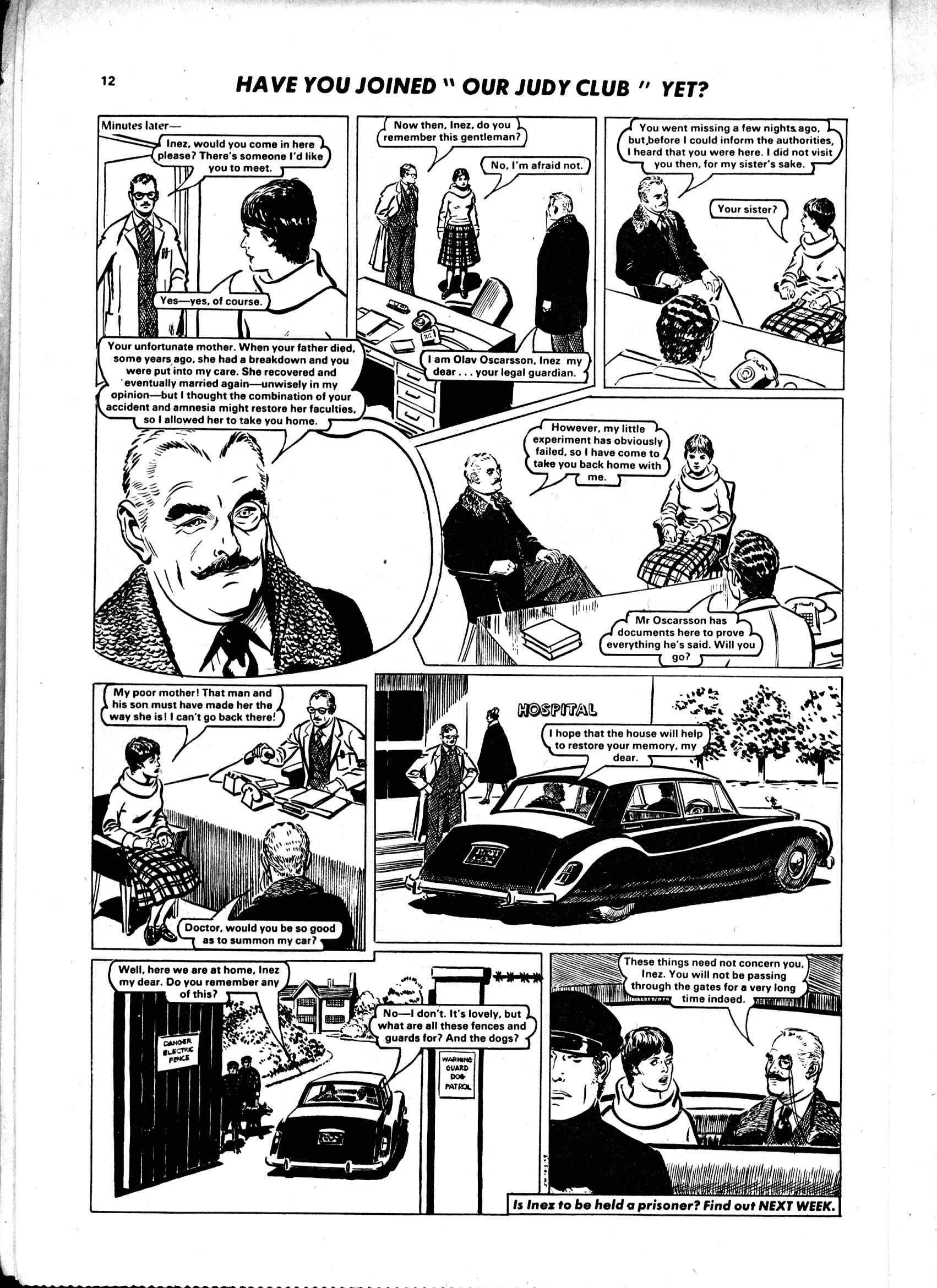 Read online Judy comic -  Issue #1000 - 12