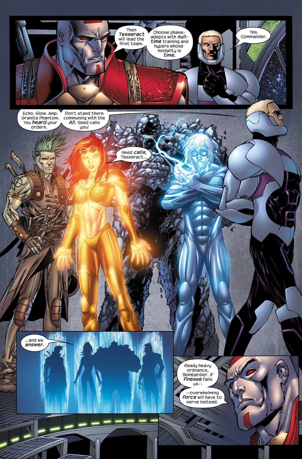Read online Ultimate Fantastic Four (2004) comic -  Issue #50 - 15