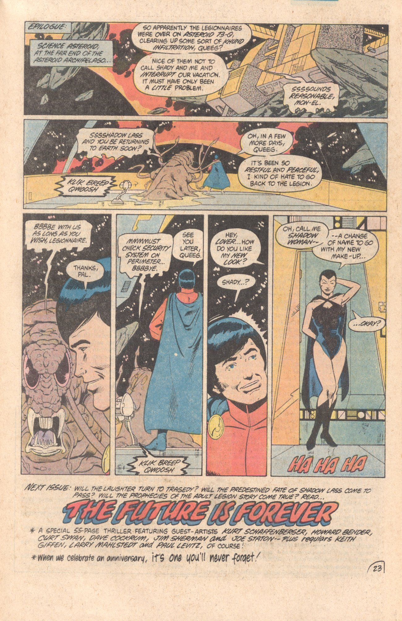 Legion of Super-Heroes (1980) 299 Page 23