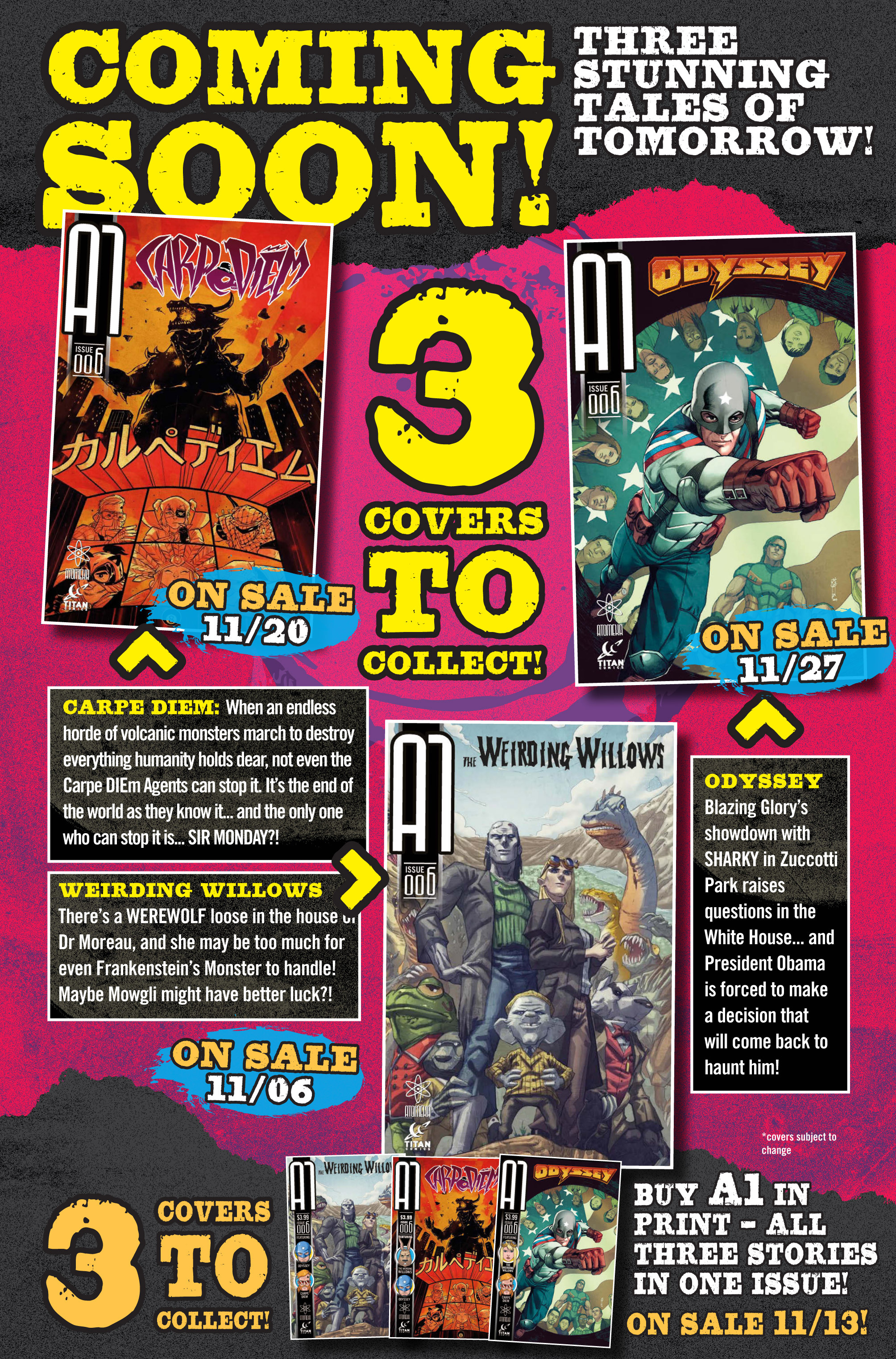Read online A1 comic -  Issue #5 - 16