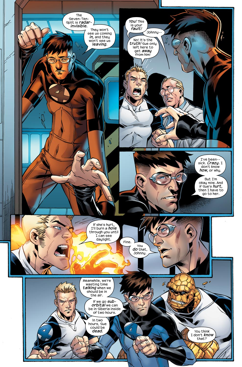 Read online Ultimate Fantastic Four (2004) comic -  Issue #47 - 23