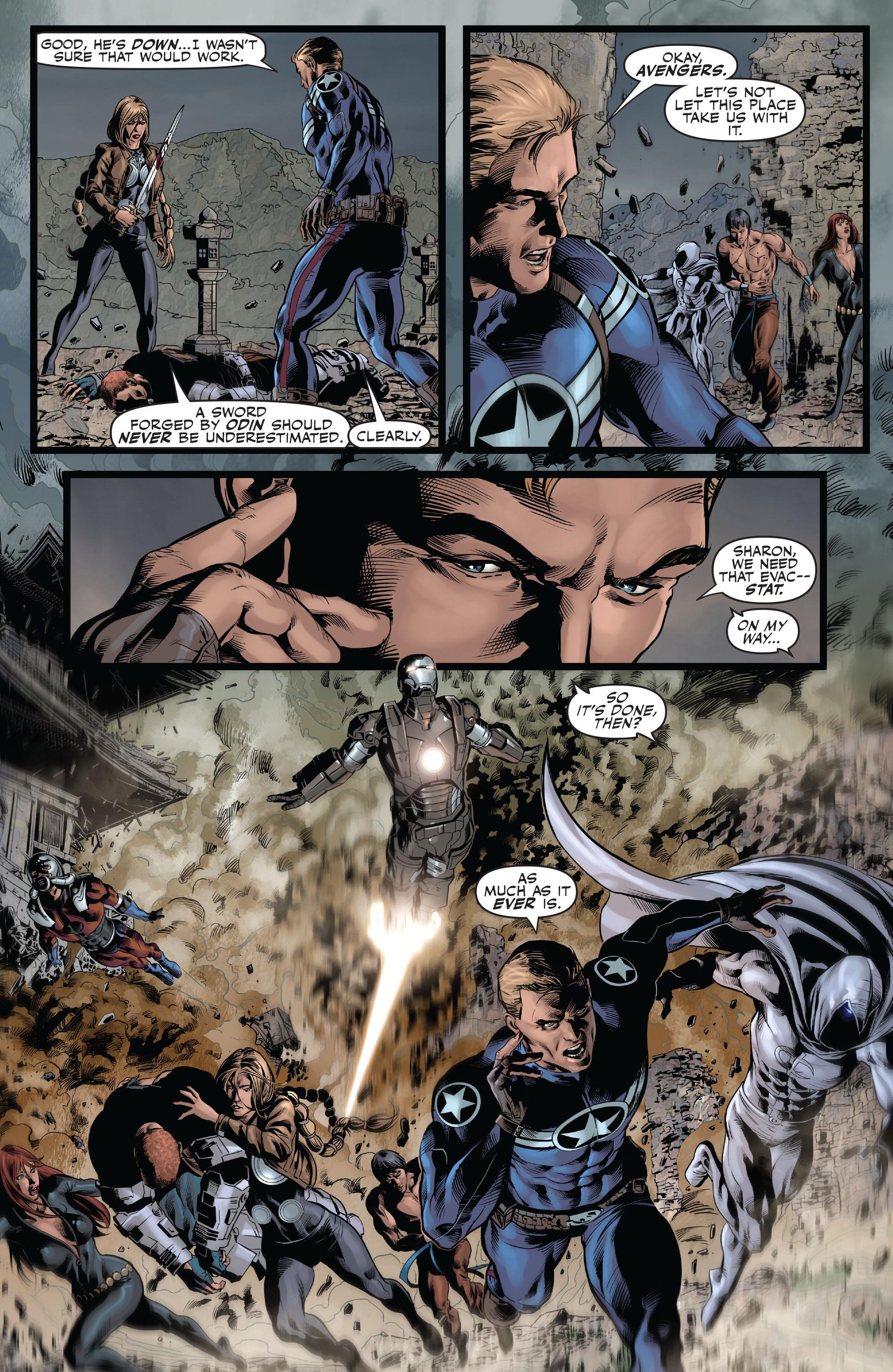Read online Secret Avengers (2010) comic -  Issue #10 - 21