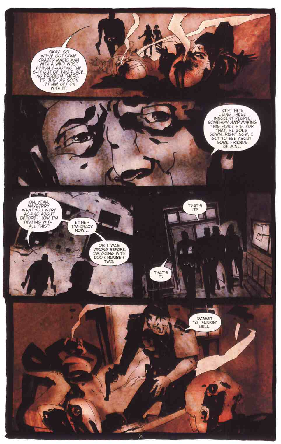Read online Silent Hill: The Grinning Man comic -  Issue # Full - 36