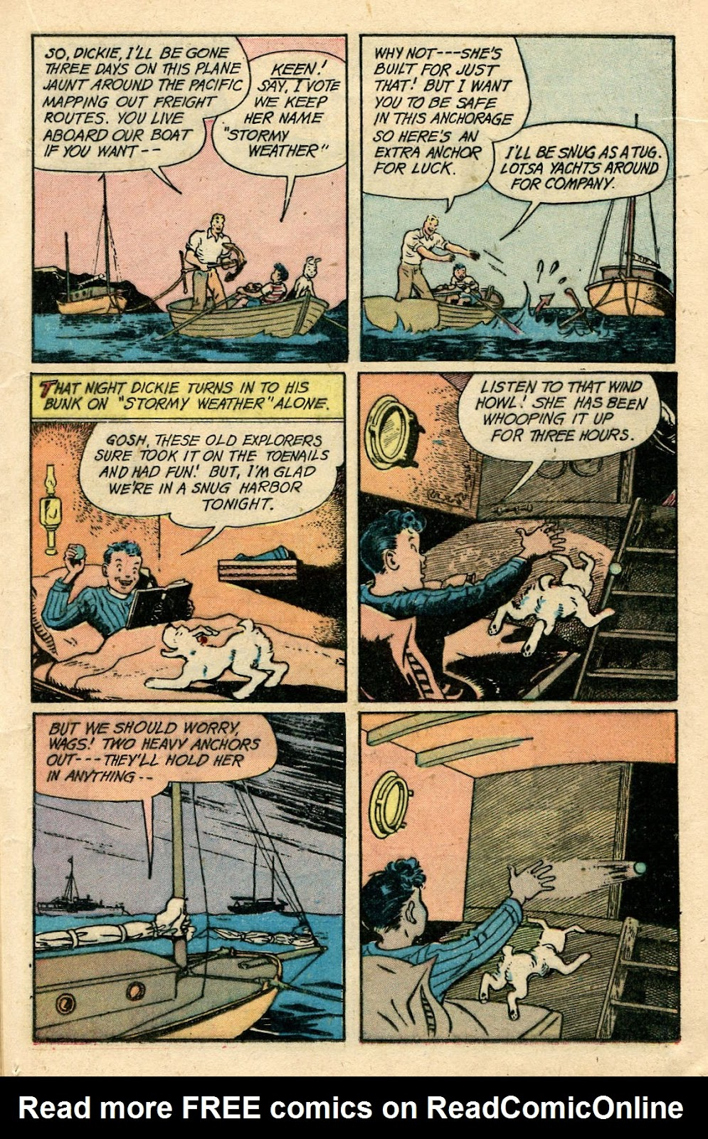 Read online Famous Funnies comic -  Issue #175 - 21