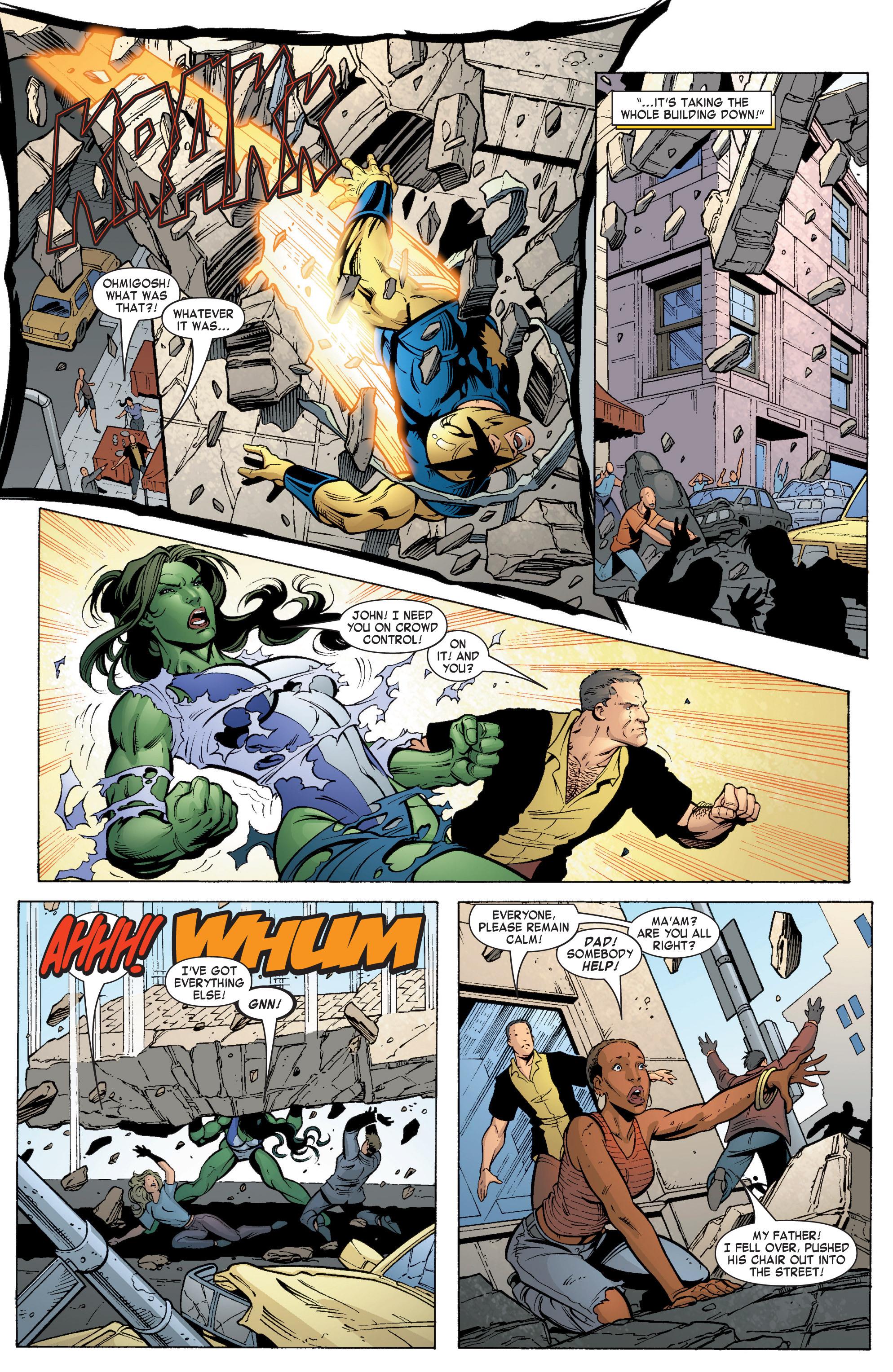 Read online She-Hulk (2004) comic -  Issue #5 - 8