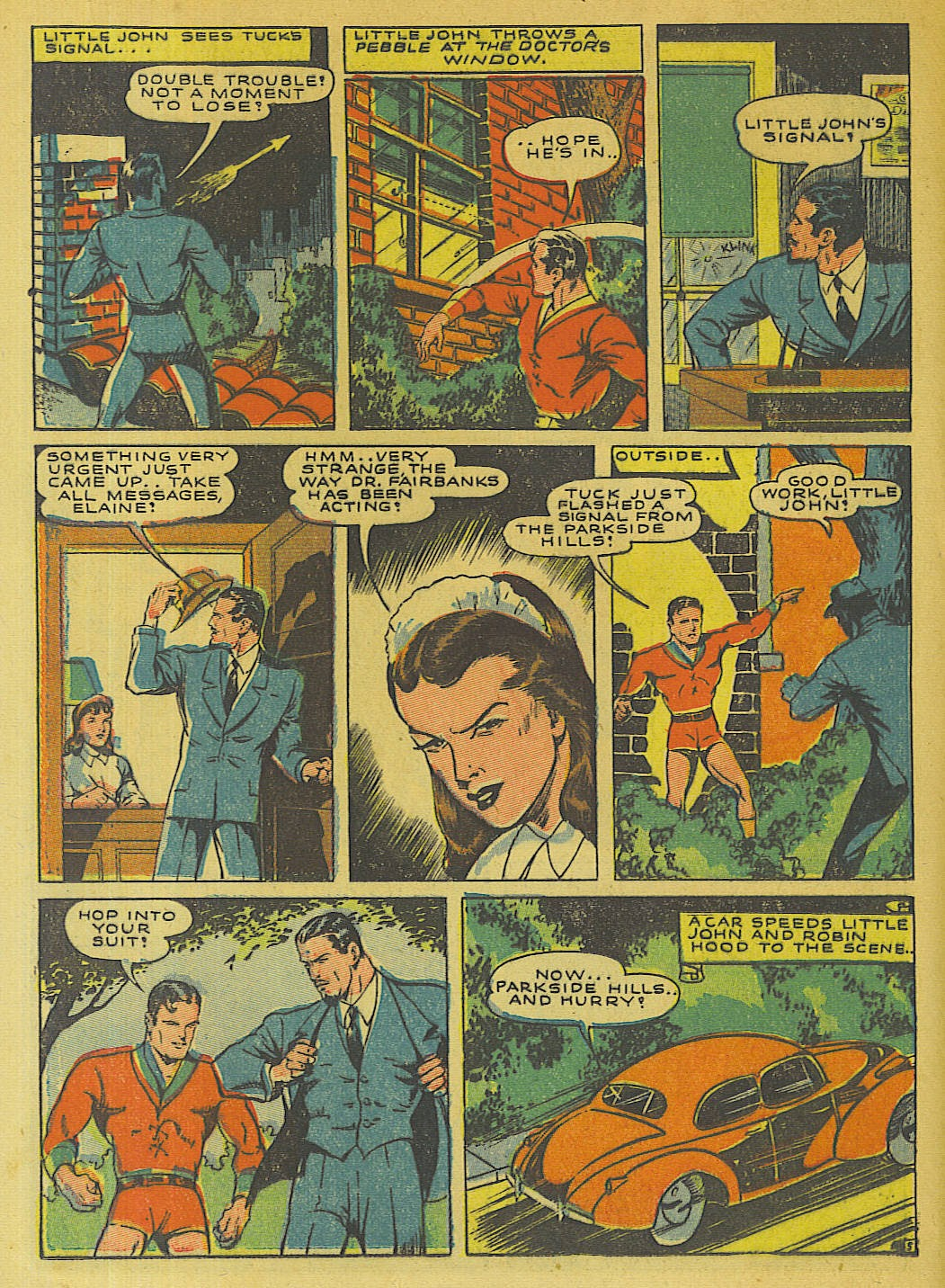 Green Hornet Comics issue 10 - Page 25