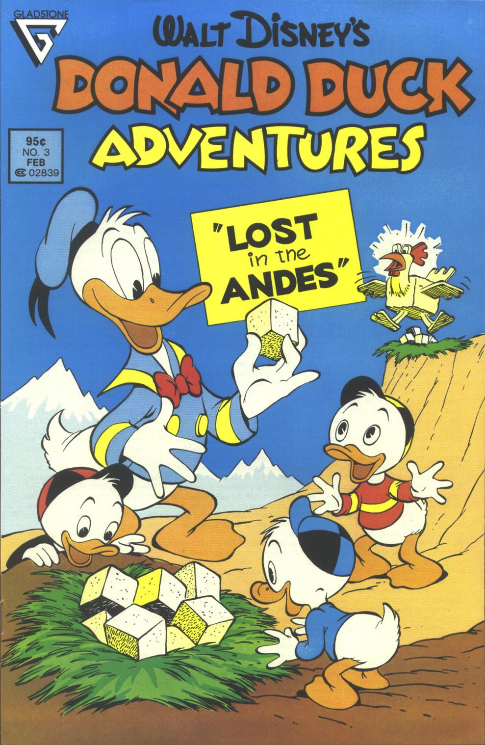 Walt Disney's Donald Duck Adventures (1987) issue 3 - Page 1