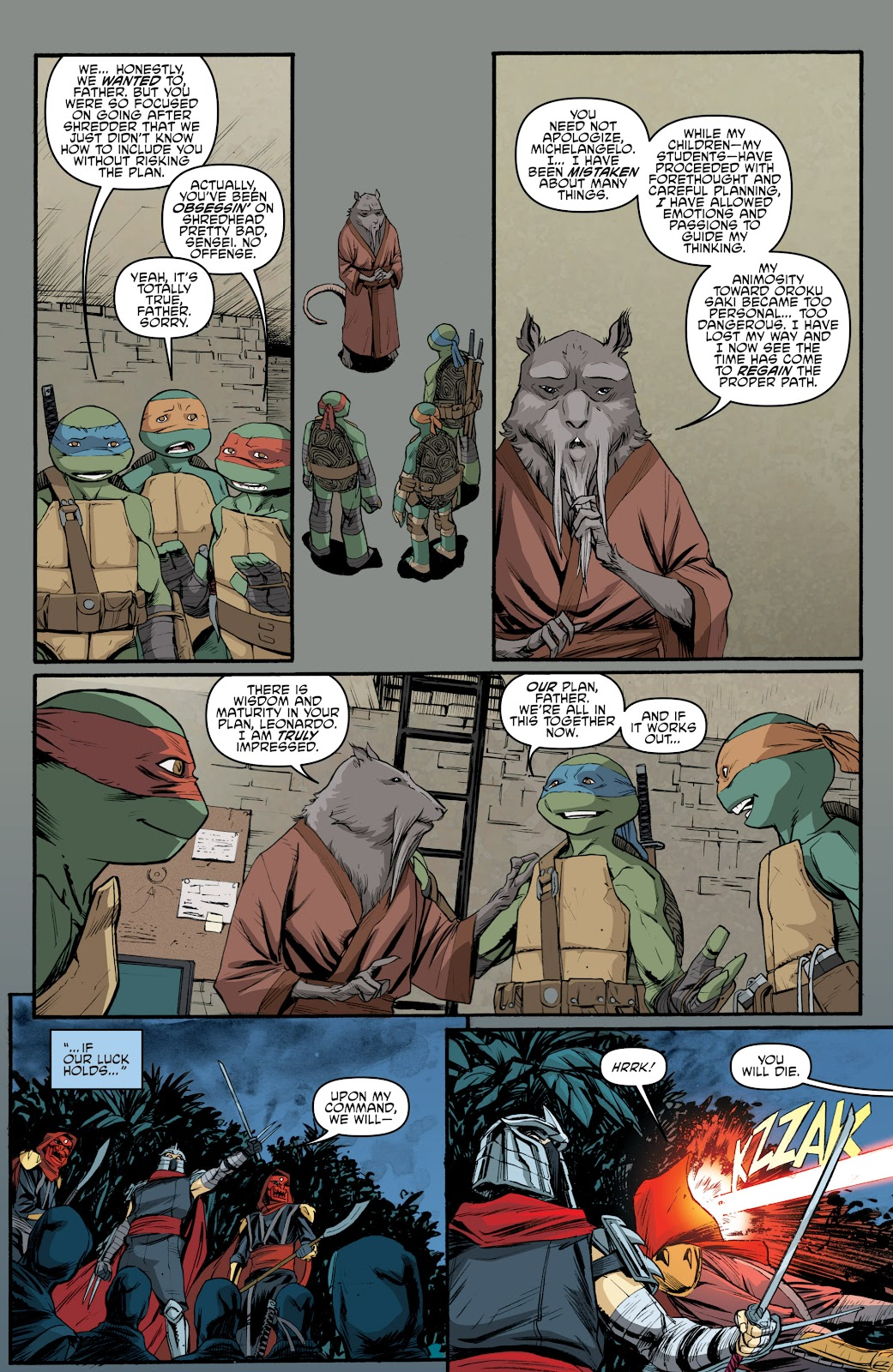 Read online Teenage Mutant Ninja Turtles: The IDW Collection comic -  Issue # TPB 5 (Part 4) - 5