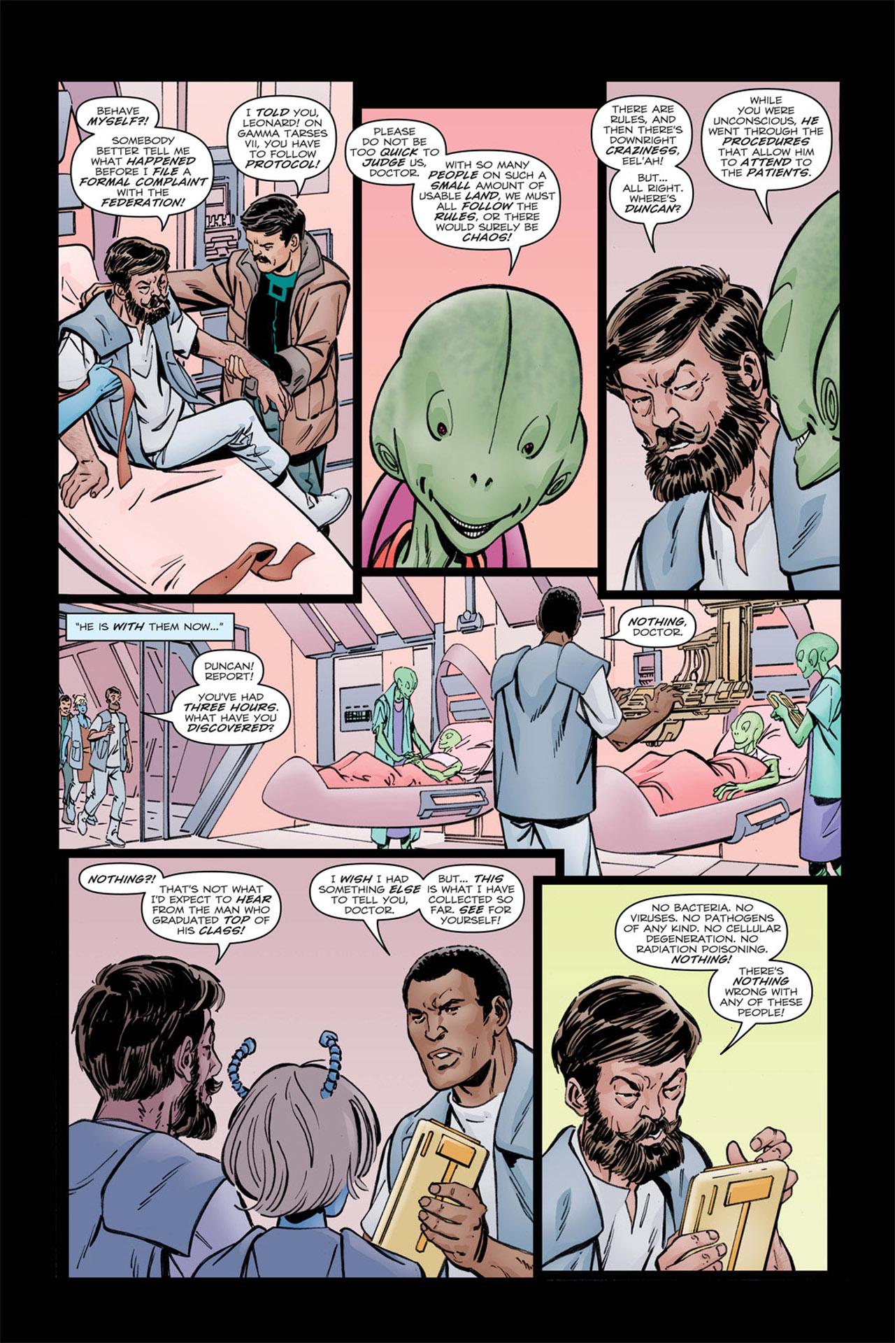 Read online Star Trek: Leonard McCoy, Frontier Doctor comic -  Issue #2 - 12