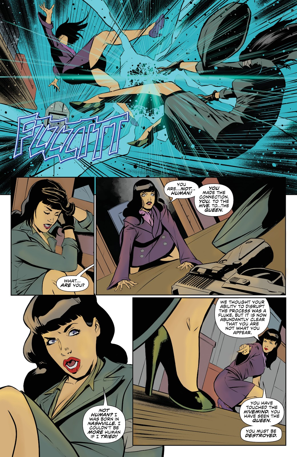 Read online Bettie Page: Unbound comic -  Issue #8 - 21