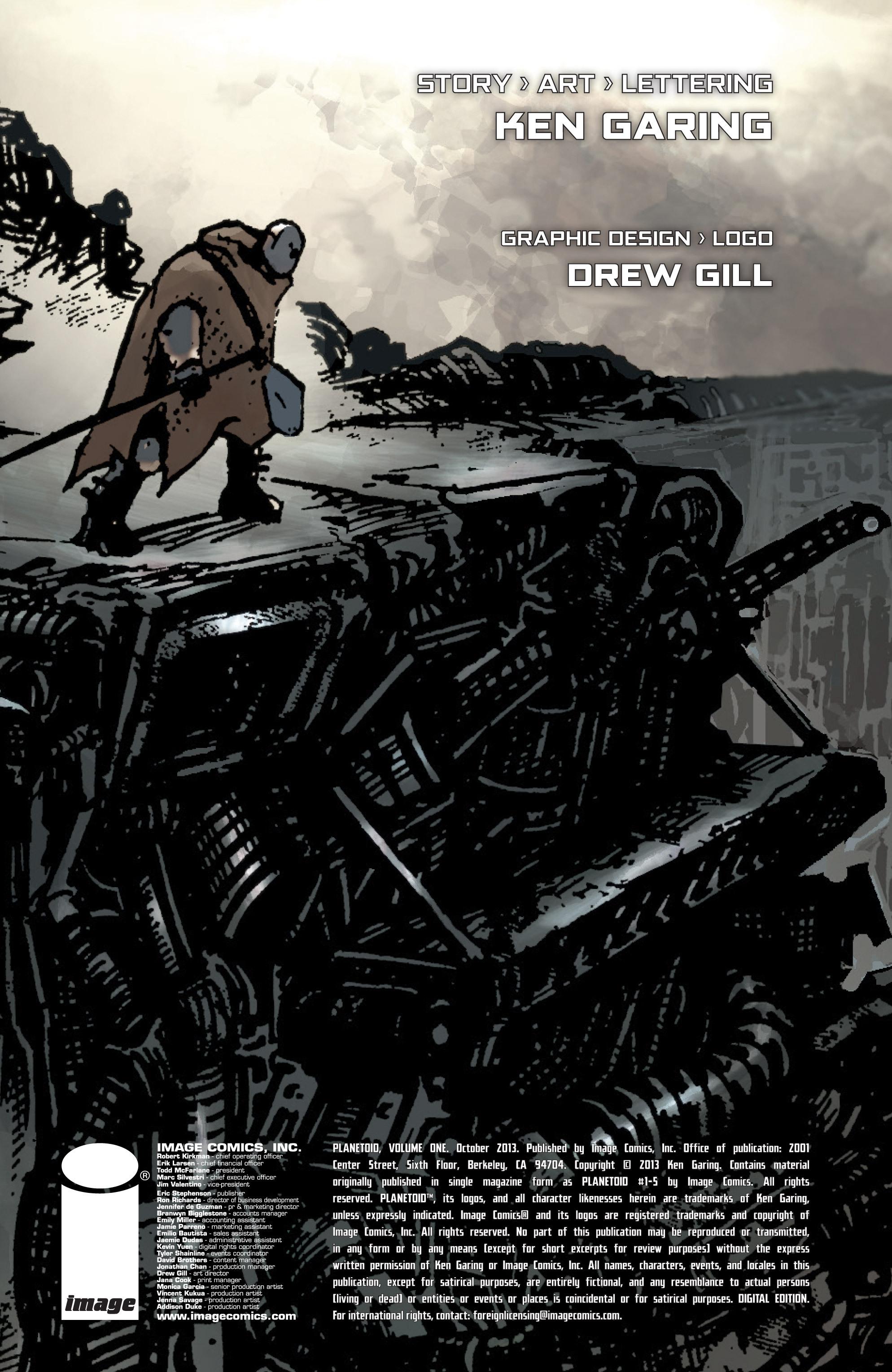 Read online Planetoid comic -  Issue # TPB - 4