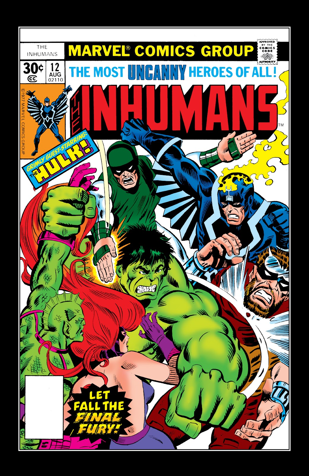 Read online Marvel Masterworks: The Inhumans comic -  Issue # TPB 2 (Part 2) - 92
