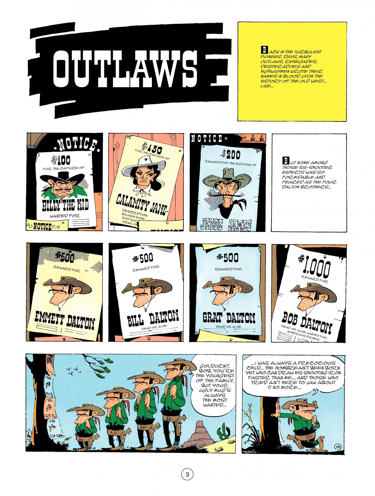 Read online A Lucky Luke Adventure comic -  Issue #47 - 3