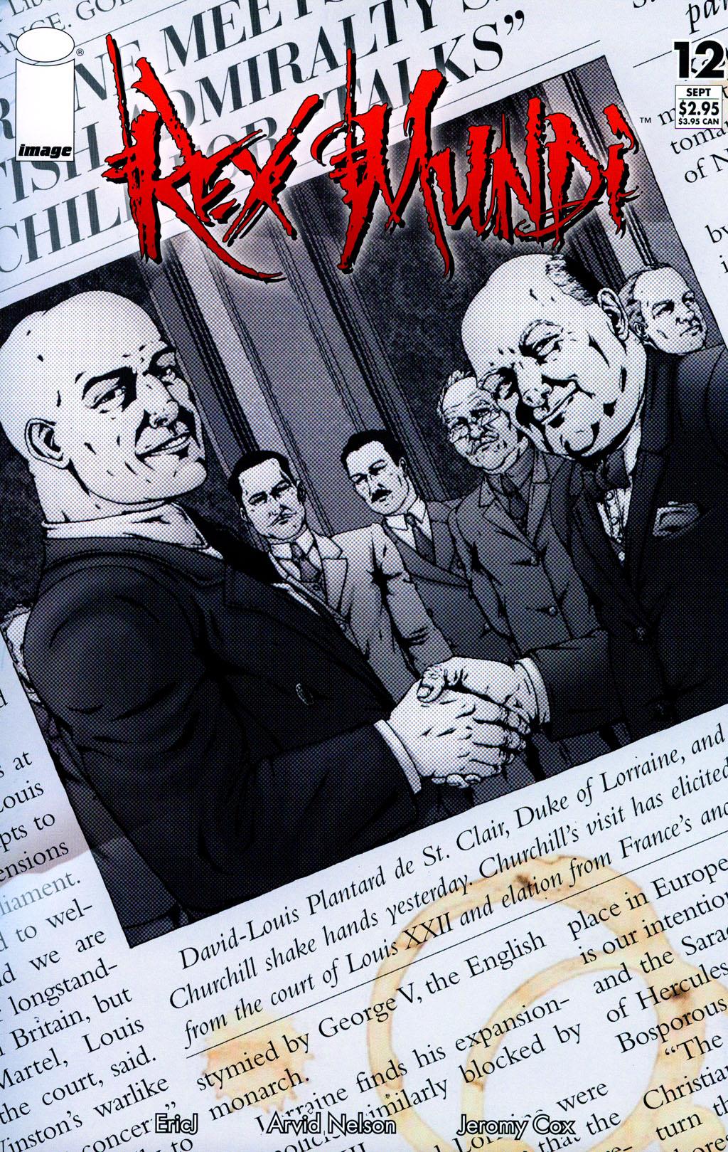 Read online Rex Mundi comic -  Issue #12 - 1